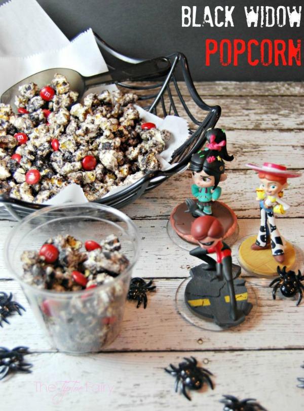 Black Widow Popcorn Recipe