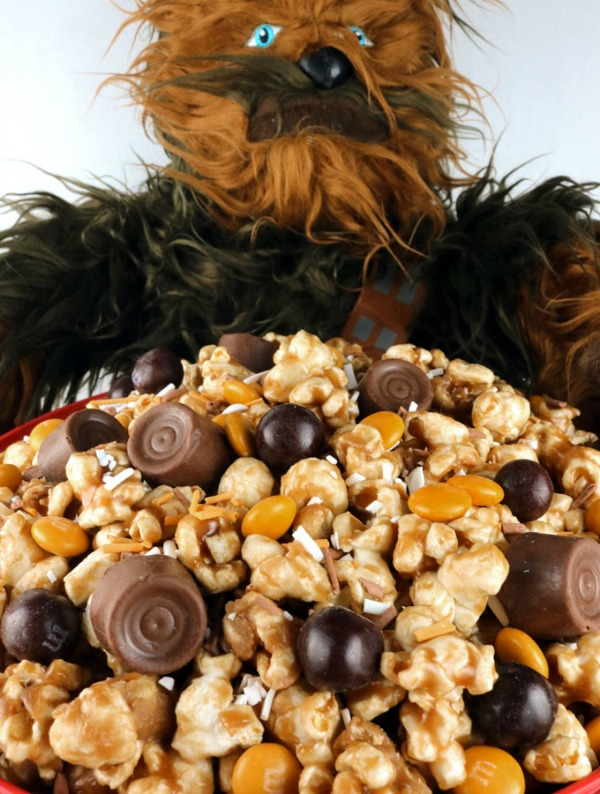 Star Wars Chewy Caramel Popcorn Recipe