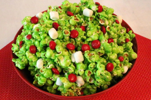 How the Grinch stole Christmas Movie night Popcorn Recipe