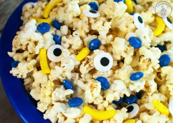 Minions Movie Night Popcorn Recipe