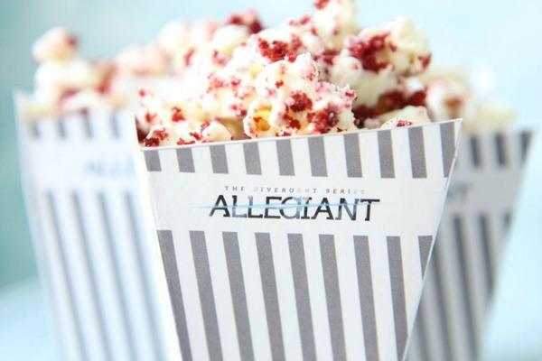 Divergent Movie Night Popcorn Recipe