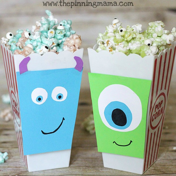 Monster Inc Movie Night Popcorn Recipe