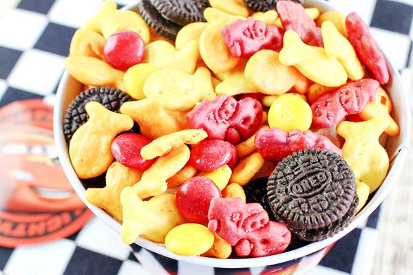Cars Movie Night Snack Mix Recipe