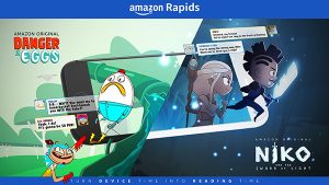 Amazon Rapids App: Unlimited Short Stories for Kids!