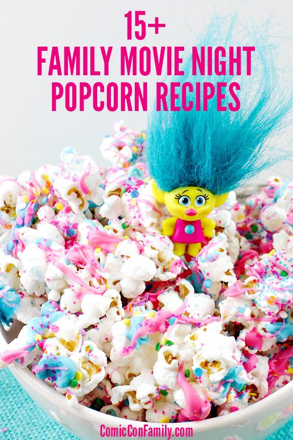 Family Movie Night Popcorn Recipes