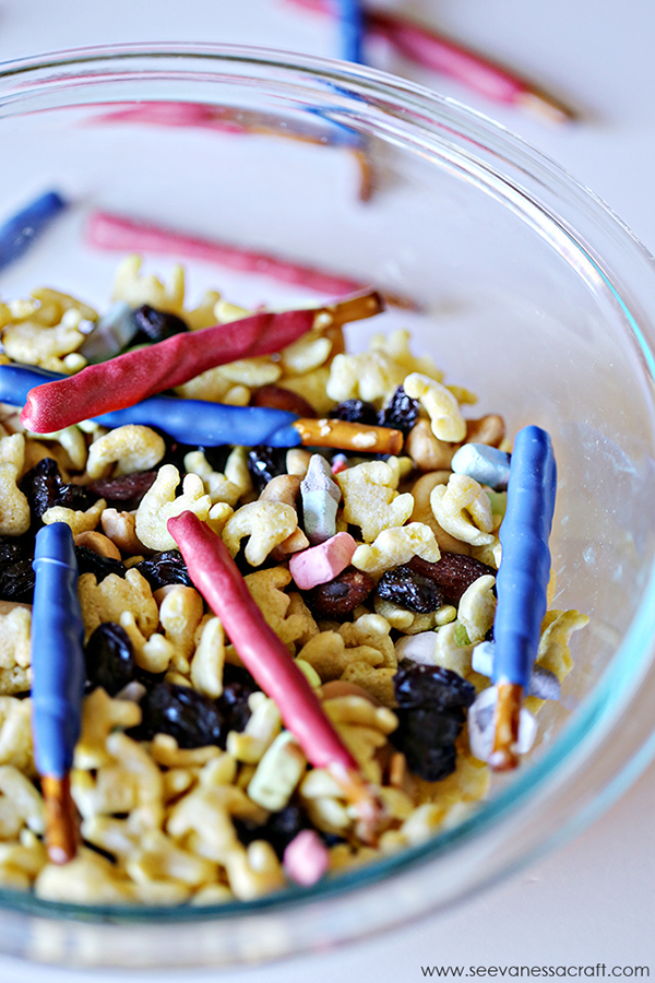 Light Saber Snack Mix by See Vanessa Craft
