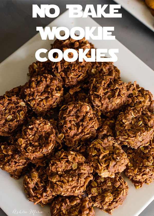 No Bake Star Wars Wookie Cookies by Ashlee Marie