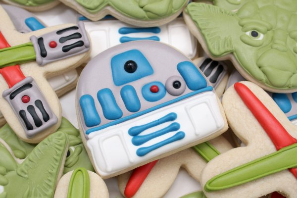 R2-D2 Cookies Recipe by Sweet Sugarbelle