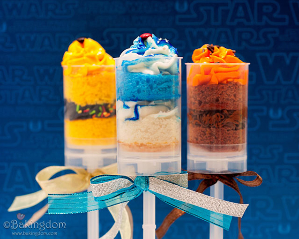 Star Wars Cake Parfaits by Bakingdom