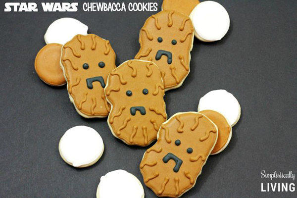 Star Wars Chewbacca Cookies Recipe by Simplistically Living