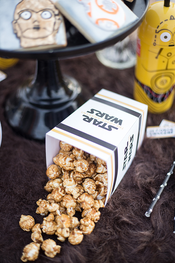 Star Wars Chewie Caramel Corn Recipe by See Vanessa Craft