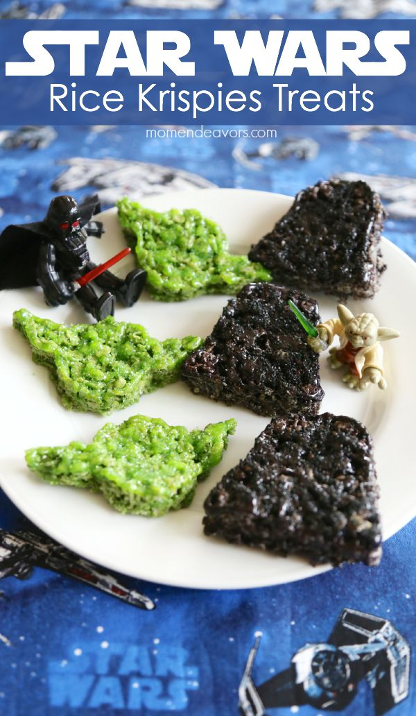 Star Wars Rice Krispies Treats by Momendeavors