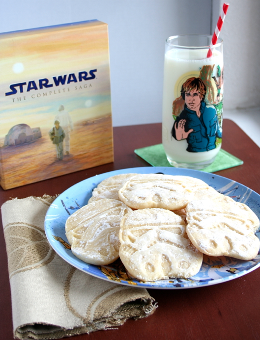 Star Wars Stormtrooper Sandies Cookies Recipe by Mama Grubbs Grub