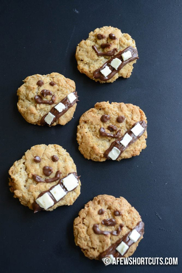 Star Wars Wookie Cookies Recipe by A Few Shortcuts
