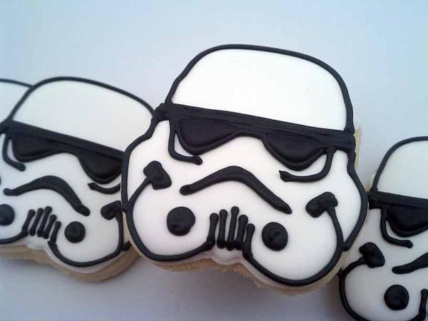 Storm Trooper Cookies Recipe by Flour Box Bakery