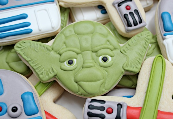 Yoda Cookies Recipe by Sweet Sugarbelle