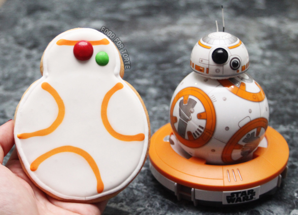 Easy Iced BB8 Cookies by Food for Torte
