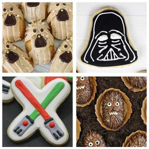 Easy Star Wars Cookies