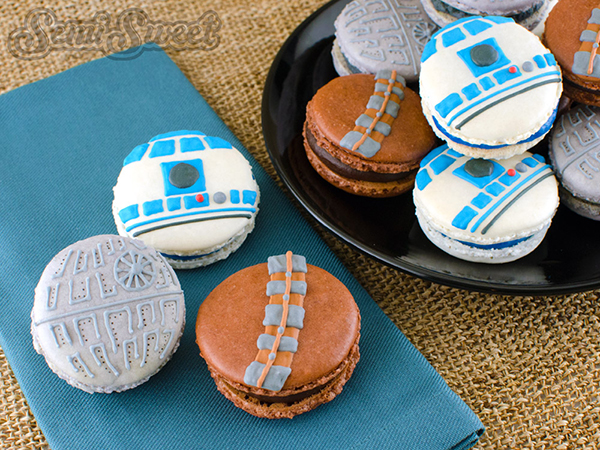Star Wars Macarons by Semi Sweet Designs