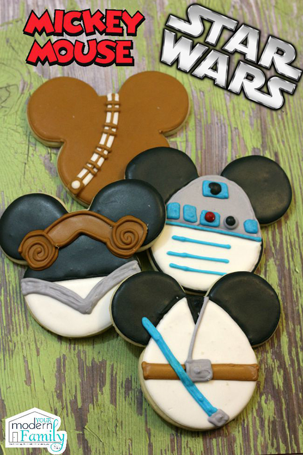 Star Wars Mickey Cookies by Your Modern Family