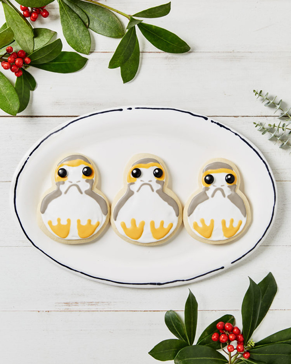 Star Wars Porg Cookies by Disney Family