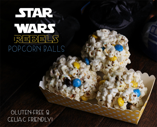 Star Wars Rebel Popcorn Balls Recipe by Dirty Floor Diaries