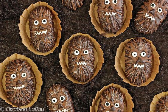 Chocolate-Dipped Wookiee Cookies by The Spruce