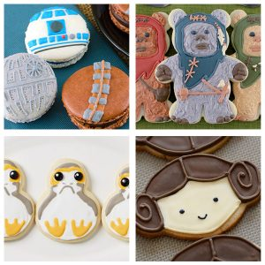 10+ Amazing DIY Decorated Star Wars Cookies with Instructions