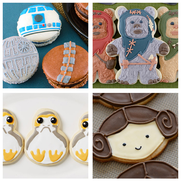 Amazing DIY Decorated Star Wars Cookies