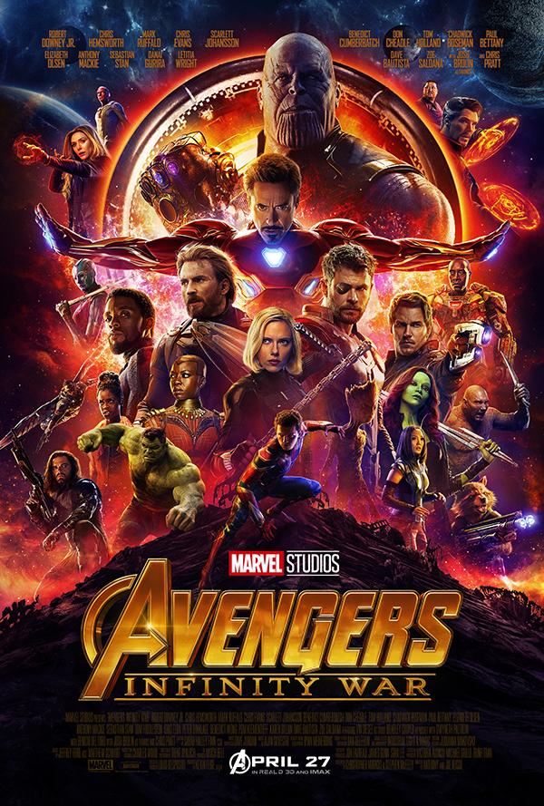 Avengers Infinity War Movie Poster