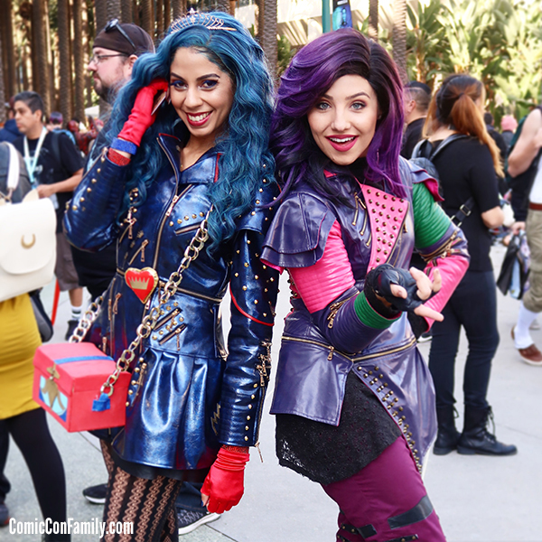 Disney Descendants Cosplay at WonderCon 2018