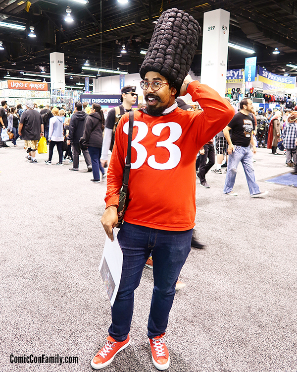 Gerald Cosplay from Nickelodeon Hey Arnold at WonderCon 2018