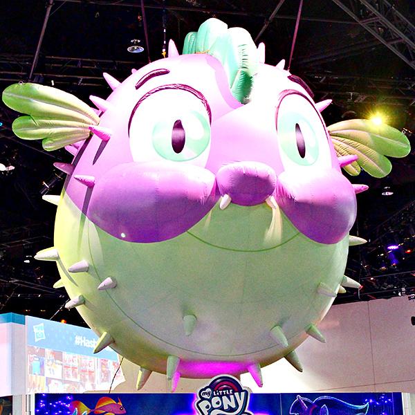 Hasbro Booth at Comic-Con - Spike the Pufferfish