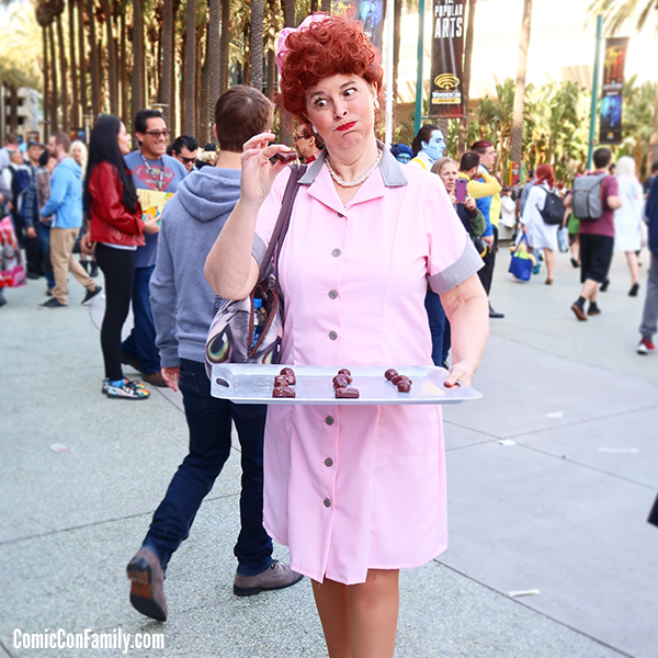 I Love Lucy Cosplay at WonderCon 2018