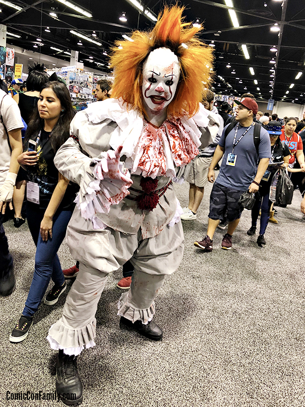 Pennywise Cosplay at WonderCon 2018