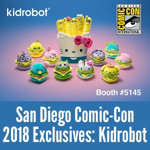 Comic-Con 2018 Exclusives - Kidrobot