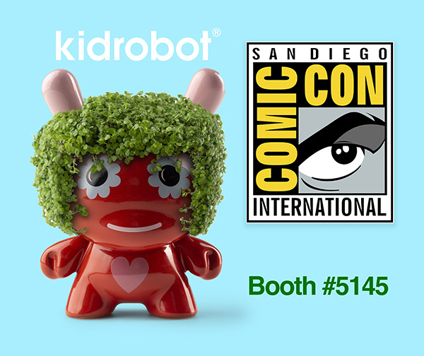 San Diego Comic-Con 2018 Exclusives - Kidrobot Jeremyville Chia Dunny