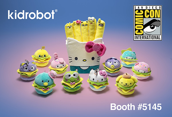 San Diego Comic-Con 2018 Exclusives - Kidrobot x Sanrio