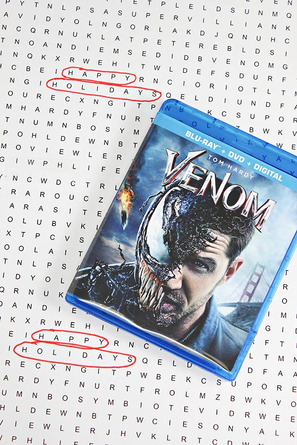 Free Printable Venom Word Search