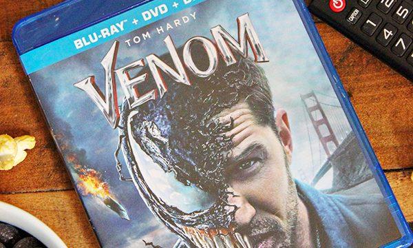 Venom Movie Night + Free Printable Venom Word Search Gift Wrap