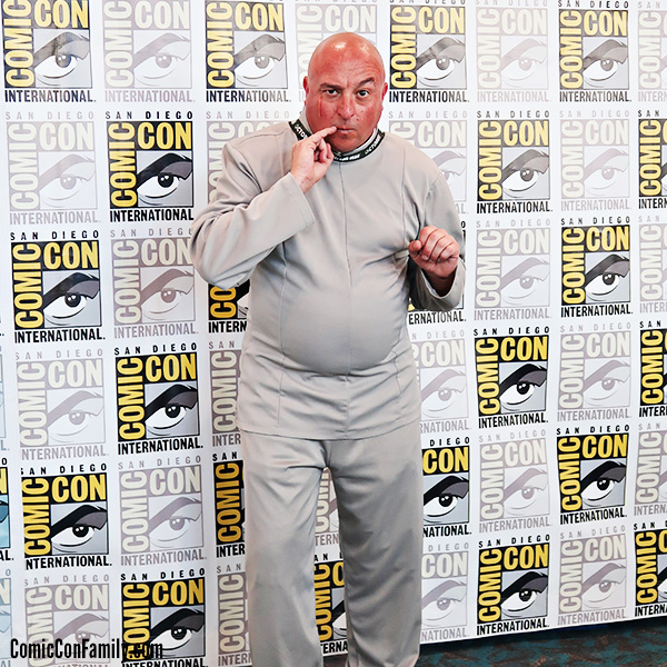 Dr Evil Cosplay from Austin Powers at San Diego Comic-Con 2018