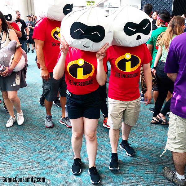INCREDIBAOS cosplay at San Diego Comic-Con 2018
