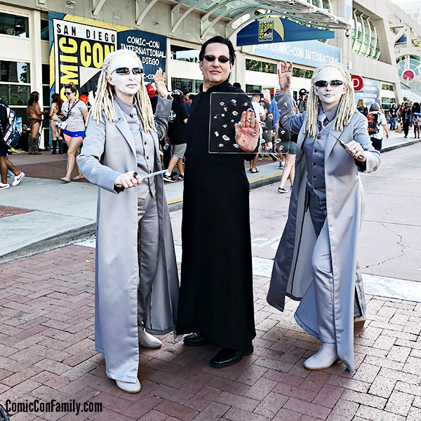 Matrix Cosplay at San Diego Comic-Con 2018