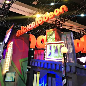 Nickelodeon Booth at San Diego Comic-Con 2018