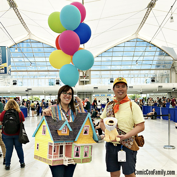 Pixar Up House Cosplay at San Diego Comic-Con 2018